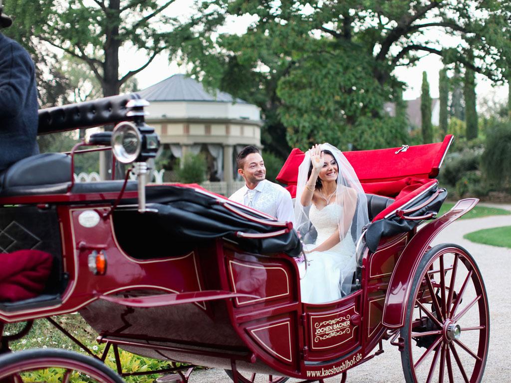 Kutschfahrten-Hochzeitskutsche